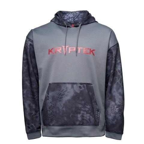Толстовка с капюшоном KRYPTEK Triad hoodie  Typhon™/dark charcoal