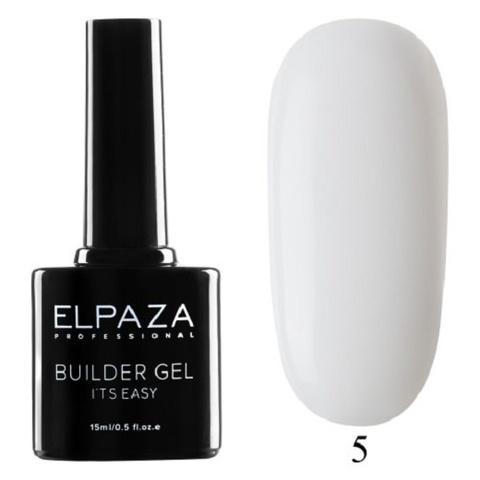 Моделирующий гель Builder Gel it's easy Elpaza, 15ml - 5