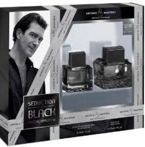 Antonio Banderas Seduction in Black SET(EDT 100 ml+A/S 100 ml)