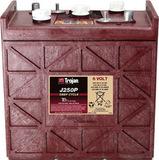 Тяговый аккумулятор Trojan J250P ( 6V 250Ah / 6В 250Ач ) - фотография