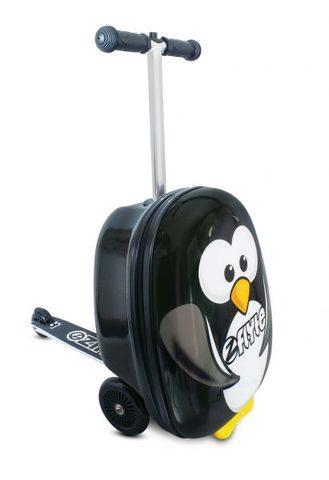 Самокат-чемодан Пингвин, Zinc