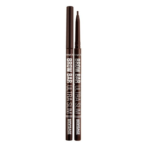 LuxVisage Карандаш для бровей механический тон 304 Chocolate, BROW BAR ULTRA SLIM