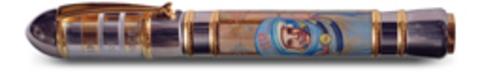 Ручка перьевая Ancora Gagarin (Гагарин)123