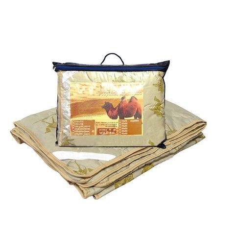 Одеяло верблюд 2-сп. с чехлом из полиэстера