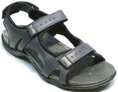 Спортивные сандалии на липучках мужские Mi Lord 2066EKO Blue.