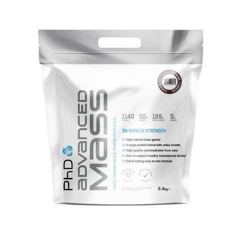 PhD Advanced Mass 2.7kg, протеиновая смесь для набора массы, вкус Шоколадный брауни, 2,7 кг