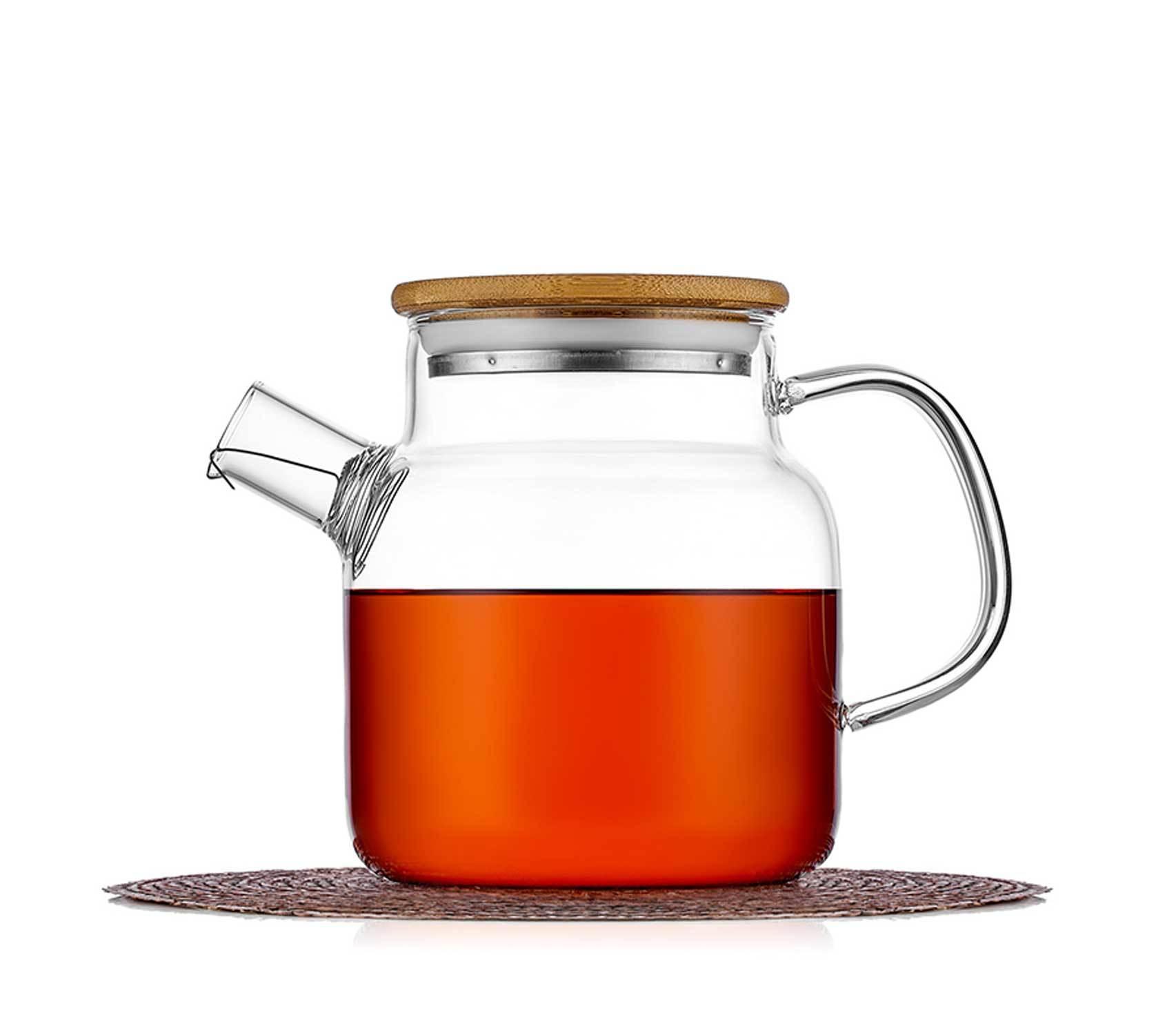 Чайники заварочные стеклянные Заварочный чайник с бамбуковой крышкой 550 мл chaynik_zavarochniy_bamboo_teastar-550ml.jpg