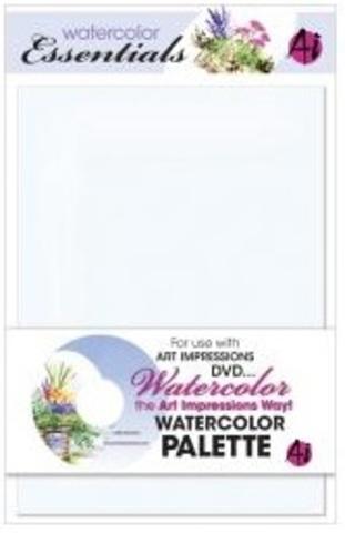 Акриловая Палитра для акварели Watercolor palette