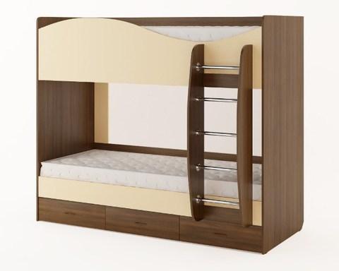 Кровать КР-05 орех / персик