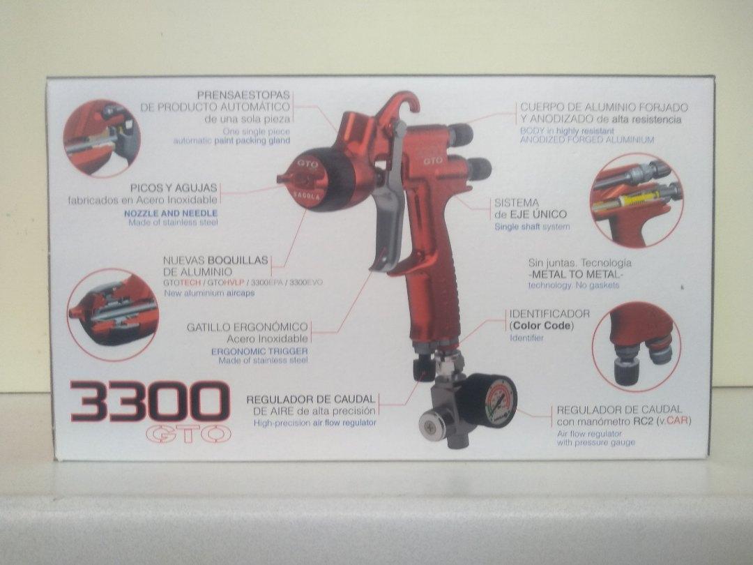 Краскопульт SAGOLA 3300 GTO CAR дюза 1.4 TECH купить