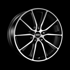 Диск колесный BBS SV 9x20 5x120 ET35 CB82.0 satin black/diamond cut