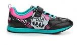 Кроссовки Монстер Хай (Monster High) на липучке для девочек, цвет черный. Изображение 6 из 8.