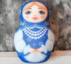 Подушка-игрушка антистресс «Матрешка зимняя» 4