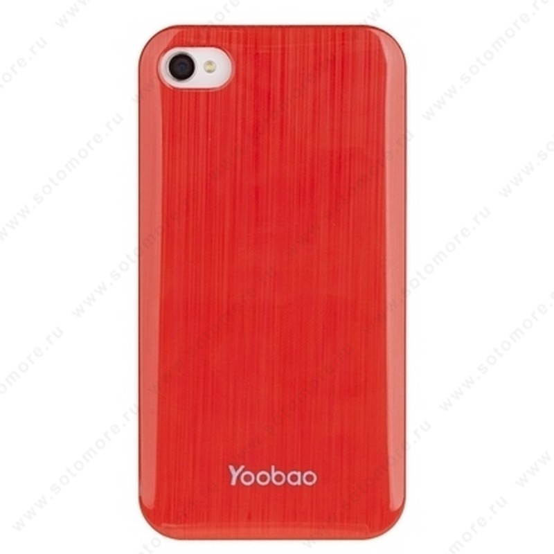 Накладка Yoobao для iPhone 4S/ 4 - Yoobao Filar Beauty Protect Case Red