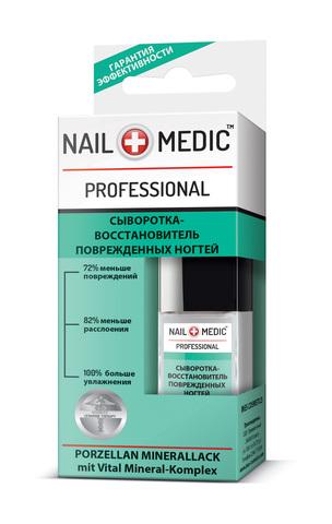 Ines Nail Medic Сыворотка-восстановитель поврежденных ногтей