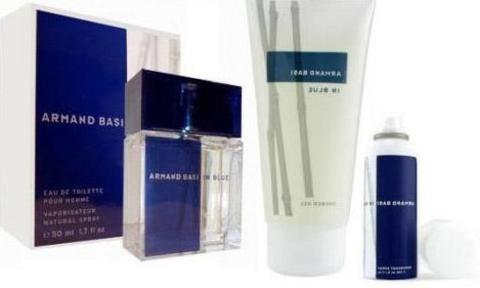 Armand Basi In Blue SET(EDT 100 ml+A/S 100 ml+DEO 150 ml)