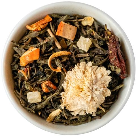 Зеленый чай Поцелуй гейши