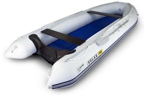 Надувная ПВХ-лодка Солар Максима - 500 К (светло-серый)