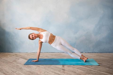Коврик для йоги Воздух 183*61*0,35 см из микрофибры и каучука