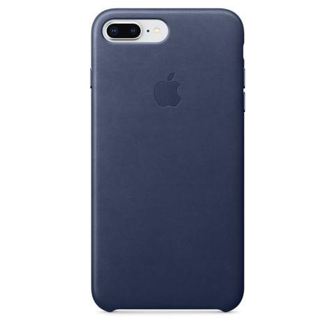 Чехол iPhone 7 Plus Leather Case /midnight blue/