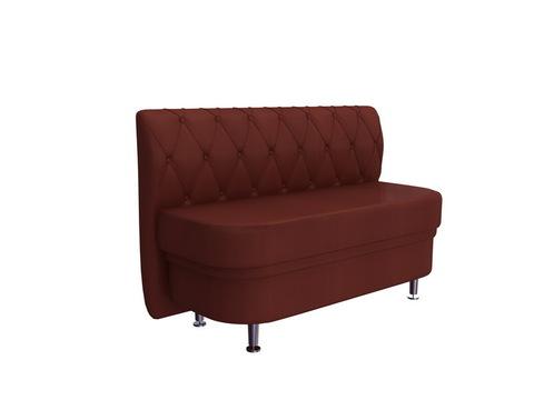 Кухонный диван Манхеттен 1100х500 Контур-дизайн кожзам темно-коричневый