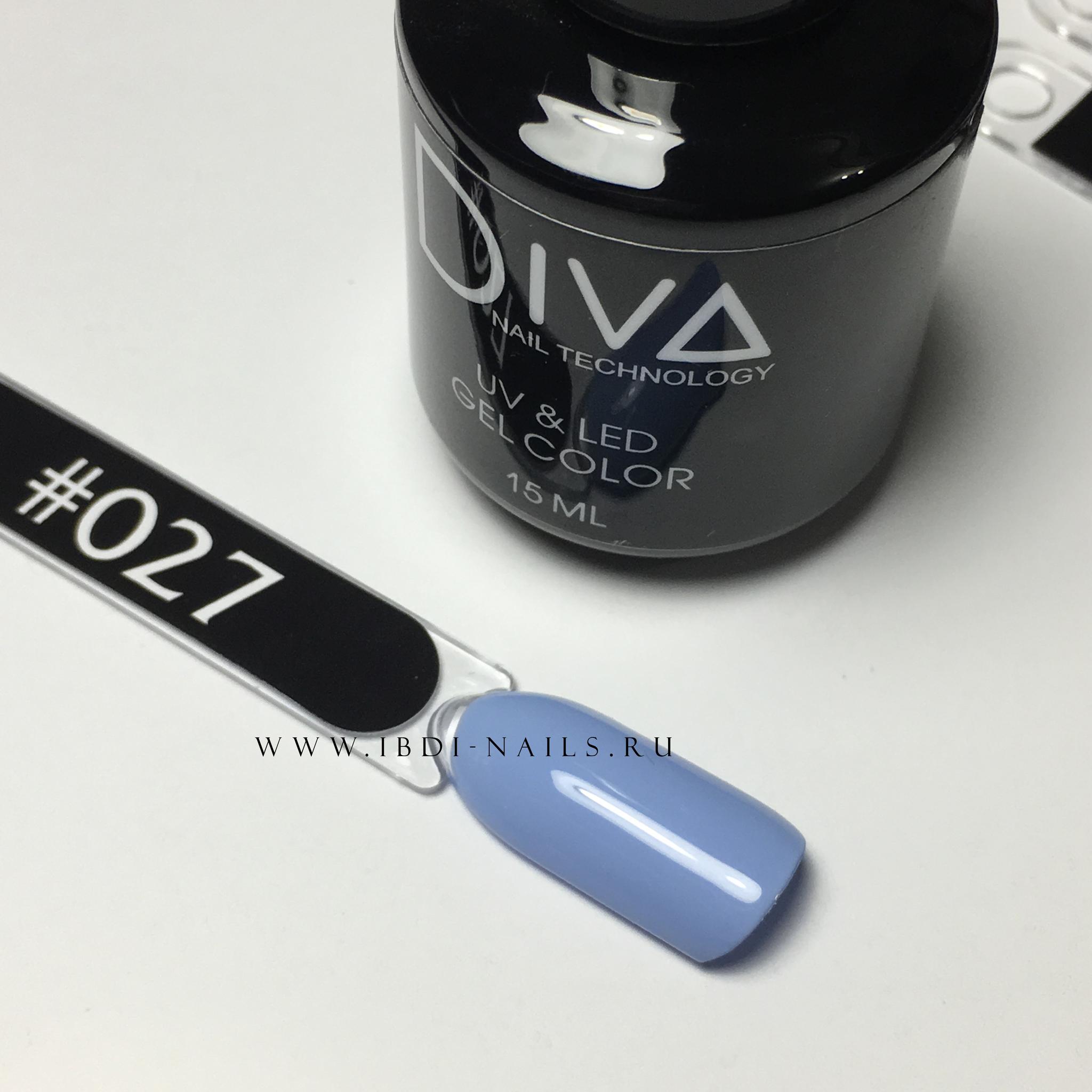 Гель-лак DIVA 027 15мл