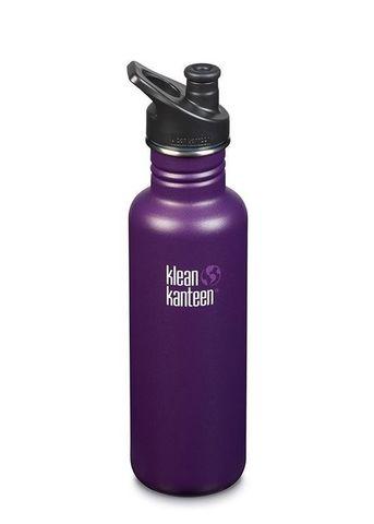 Бутылка Klean Kanteen Classic Sport 27oz (800 мл) Winter Plum