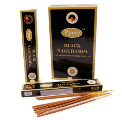 Индийские палочки Ppure Black Naccyampa