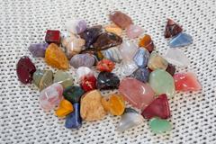 Набор самоцветов для аквариума 3кг (около 180 штук)