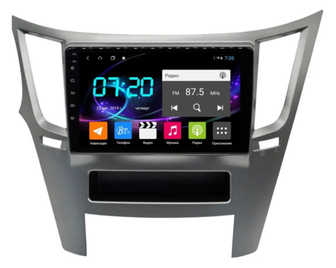 Магнитола для Subaru Legacy/ Outback (2009-2014) 4/64GB IPS DSP 4G модель CB3228T9