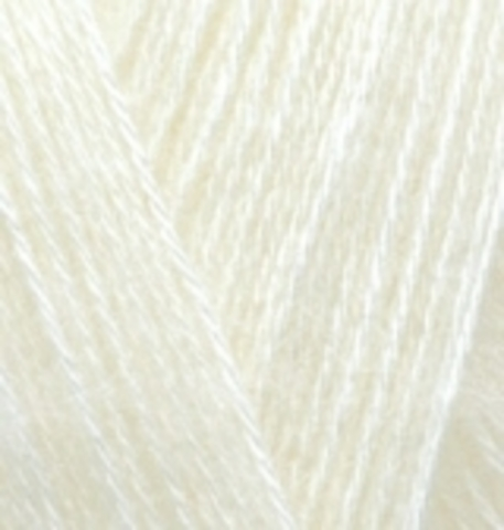 Купить Пряжа Alize Angora Gold Код цвета 001 | Интернет-магазин пряжи «Пряха»