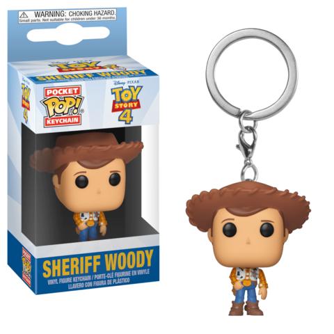 Брелок Шериф Вуди || POP! Sheriff Woody