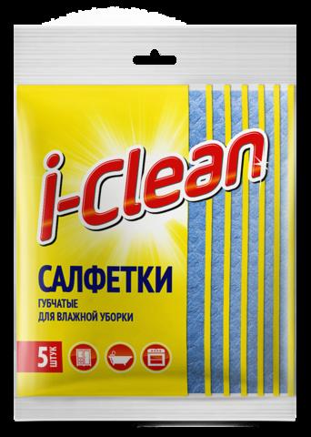 Romax i-Clean Салфетки губчатые для влажной уборки 5шт