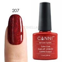 Canni, Гель-лак № 207, 7,3 мл