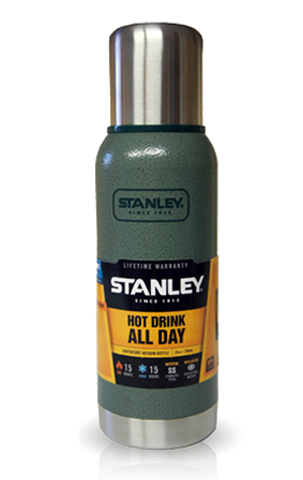 Термос Stanley Adventure (1 литр), зеленый