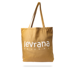 Эко-сумка коричневая | 40x40 см | Levrana