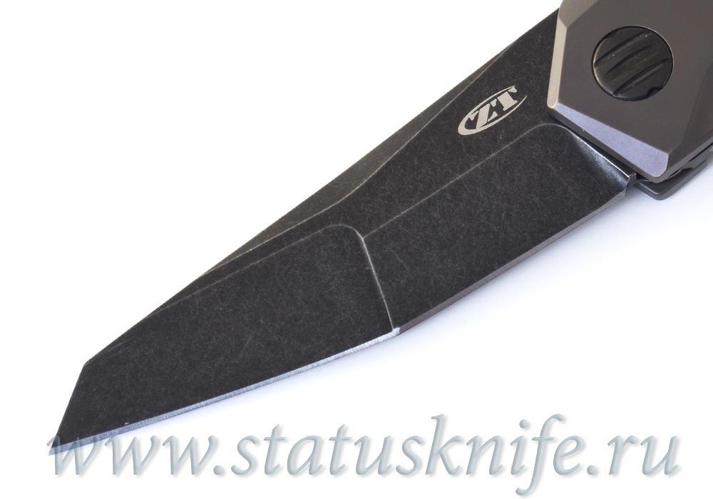 Нож Zero Tolerance 0055BRZ, ZT 0055BRZ GTC Airborne - фотография