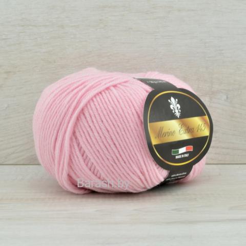 Пряжа Merino Extra 145 (Мерино экстра 145) Светло-розовый