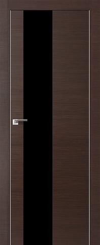 Дверь № 5 Z (венге кроскут, остекленная экошпон), фабрика Profil Doors