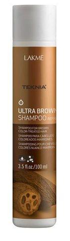 Lakme Ultra brown shampoo refresh (100 мл)
