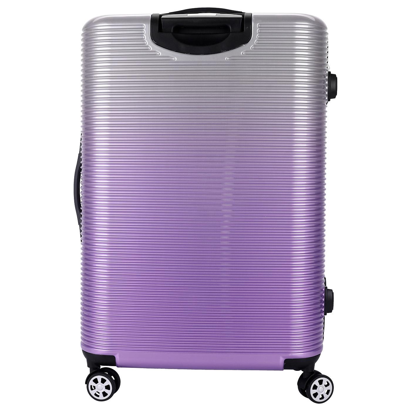 Чемодан SunVoyage Elit SV042-AC157 Фиолетовая волна (M+)