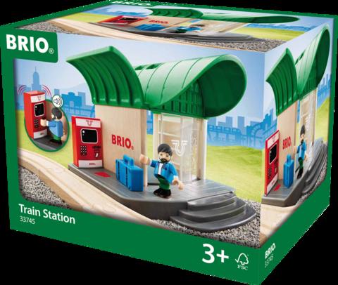 BRIO Железнодорожная станция со звуком