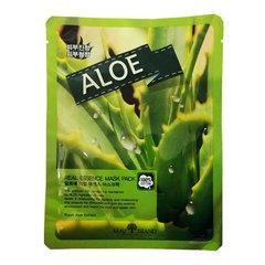 May Island Real Essence Mask Pack Aloe - Тканевая маска для лица с экстрактом алоэ