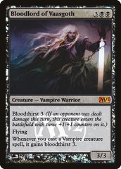 Bloodlord of Vaasgoth (Prerelease Foil, English) NM