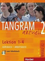 Tangram aktuell 2 – Lektion 1–4 - Kursbuch + Arbeitsbuch mit Audio-CD zum Arbeitsbuch
