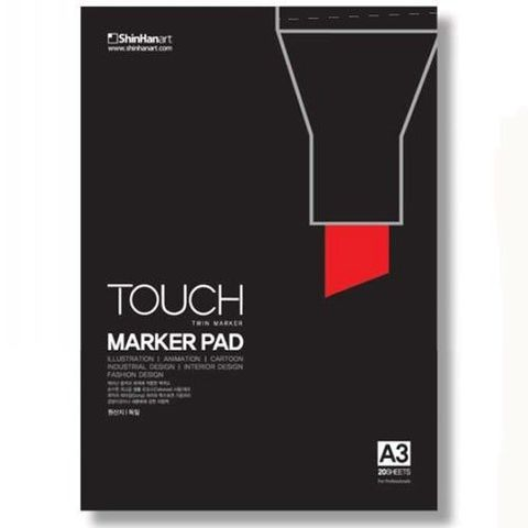 Альбом для маркеров Shinhan Art Touch Marker Pad, A3