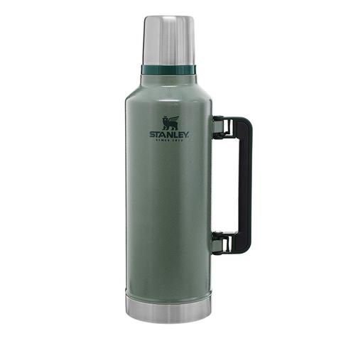 Термос Stanley Classic (2,4 литра), темно-зеленый