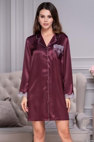 Рубашка халат на пуговицах MIA-Amore LAURA ЛАУРА 3297