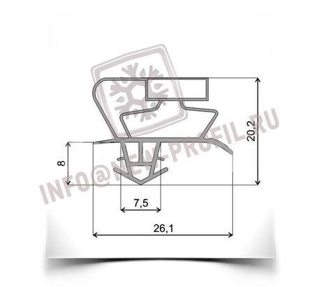 Уплотнитель для холодильника SHARP SJ -69M-GY м.к. 455*705 мм по пазу(АНАЛОГ 017)