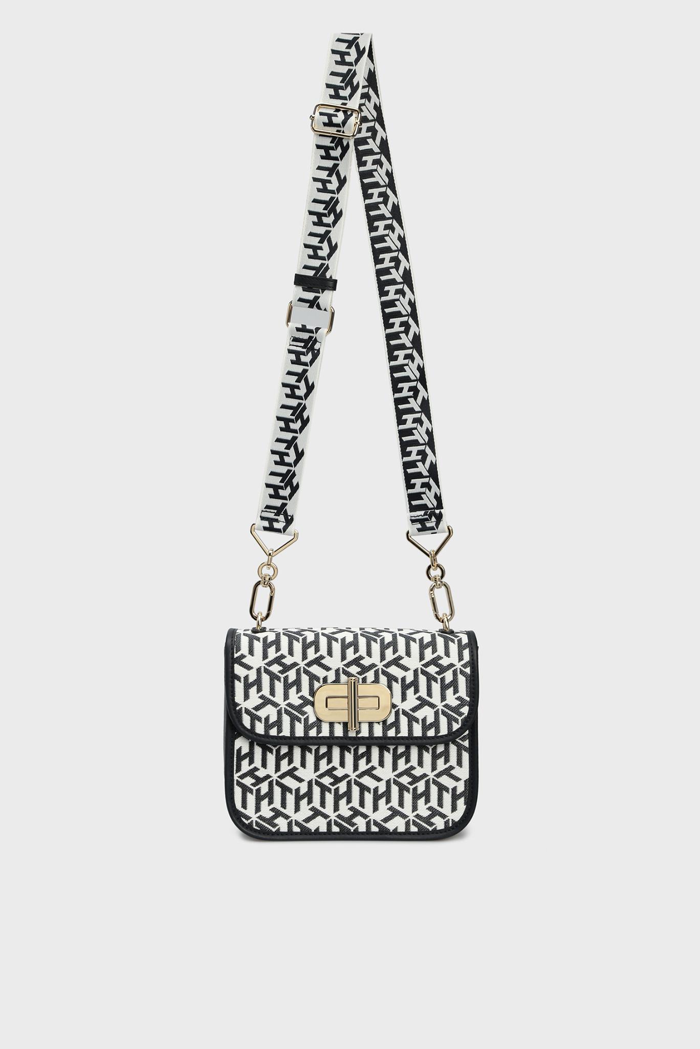 Женская сумка через плечо TURNLOCK MONOGRAM Tommy Hilfiger
